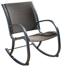 outdoor wicker rocking chairs with cushions. wicker rocking chairs outdoor chair dark brown contemporary high back . with cushions c