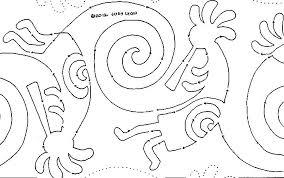 native american   Product tags   MeadowLyon Designs & Spinning Kokopelli #1437 10″ Interlocking Pantograph Adamdwight.com