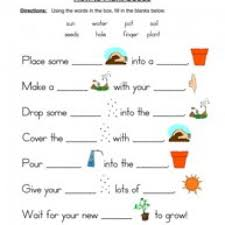 Life Cycle Worksheets - Have Fun TeachingSeeds Plants Worksheet – Fill in the Blanks