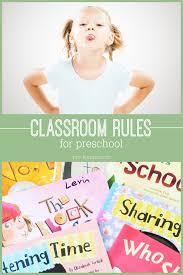 Preschool Classroom Rules