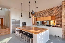 beautiful tom dixon lighting method sydney contemporary kitchen decorating ideas with breakfast bar brick wall breakfast bar lighting ideas