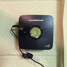 myq garage door openerQUICK LOOK Chamberlain MyQ Garage Door Opener and Rachio IRO