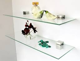 Bluegate Floating Glass Shelves Magnificent Floating Glass Shelves Corner Luxury Appearance Of House With