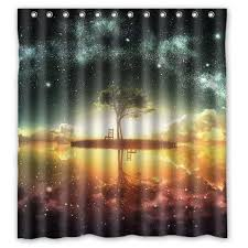 2019 delicate galaxy design shower curtain size 165x180 cm custom waterproof polyester fabric bath shower curtains from littemanthree 25 13 dhgate com