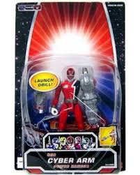 Power Rangers SPD Red Cyber Arm Ranger Action Figure
