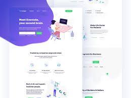 Startup Landing Page By Anwar Hosain Dribbble Dribbble