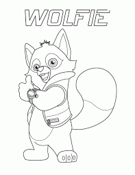 Small Picture Special Agent Oso Coloring Pages