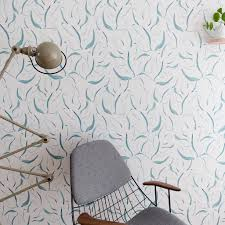 Behang Zostera Green Groen Behang Terracotta Pots Wallpaper En