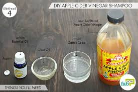 raw unfiltered apple cider vinegar antimicrobial 2 tablespoons liquid castile soap