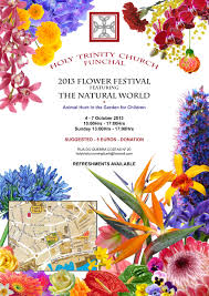 Ingles Floral 2013 Holy Trinity Flower Festival Posters In English And