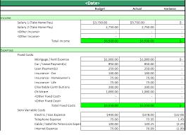 monthly household expenses sheet household expense barca fontanacountryinn com