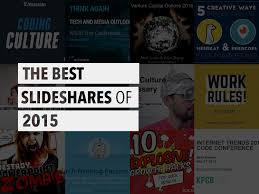 slede share the must read slideshares of 2015