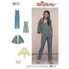 Simplicity Patterns Impressive Simplicity Pattern 48 Misses' Kimono Jumpsuit And Dress Sewing