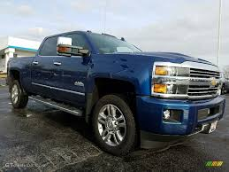 All Chevy chevy 2500hd high country : 2017 Deep Ocean Blue Metallic Chevrolet Silverado 2500HD High ...