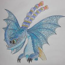 Image result for white and blue death song httyd