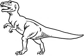 Small Picture Tyrannosaurus Rex Coloring Page Coloring Pages Online