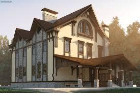 Архивы Все проекты  Архитектурный проект дома для большой семьи из кирпича фото строительства