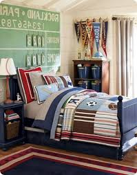 Mind Blowing Images Of Sport Theme Kid Bedroom Design And Decoration Ideas  : Entrancing Image Of