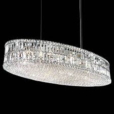 a polished silver crystal pendant light from lamps plus create a chandelier81