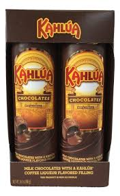 turin kahlua coffee liqueur flavor filled milk chocolates 14 1 oz gift set