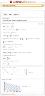 step by step diffeial equation