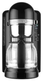 kitchenaid 12 cup coffee maker with one touch brewing onyx black kcm1204ob com