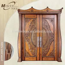 Indian Style Main Wooden Double Door Design Buy Main Double Door