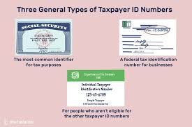 differences among a tax id employer id
