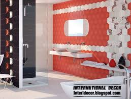 Small Picture Modern Bathroom Wall Tile Designs Home Design Ideas
