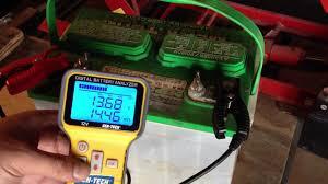 lead acid battery desulfation using epsom salt first test after charging part 3 of 6 you