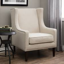 Whitmore Lindy Wingback Chair Free Shipping Today Overstock