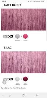 Soft Berry Lilac In 2019 Hair Color Formulas Red Hair