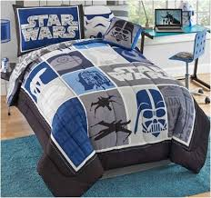 Cool Blue Star Wars Bedding Twin 6-Pc Set … | Kids room | Pinte…