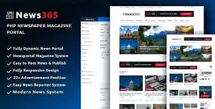 Website Template Newspaper Newspaper Website Template News Templates Free Download Php