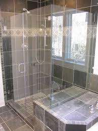Bathroom:Simple Small Open Shower Design In Modern Bathroom Ideas With  Glass Door Luxurious Open