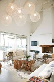 beach house lighting ideas. Beach House Design With High Ceiling And Globe Pendant Lightings Interesting Couch Lighting Ideas C