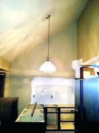 chandelier for sloped ceiling amazing ceil light home ideas 14