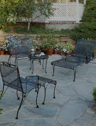 Vintage Woodard Wrought Iron Chantilly Rose Table U0026 4 Chairs Patio Woodard Wrought Iron Outdoor Furniture