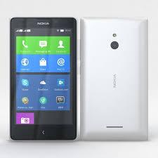 3D Nokia XL and XL Dual White ...