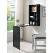 wall mounted office desk. black wood wallmounted folding convertible workstation desk with storage shelves for home u0026 wall mounted office
