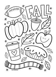 The fall coloring pages here can be printed out as black and. Fall Coloring Sheet By Mrs Arnolds Art Room Teachers Pay Teachers