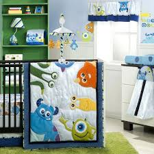 baby girl room ideas disney monsters inc 4 piece premier crib bedding set baby baby girl themes baby baby nursery home decoration y8