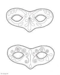 Kleurplaat Maskers Afb 5667 Images