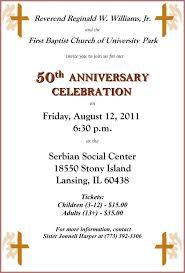 50th wedding invitations luxury church 50th anniversary invitations history fbcup 50th wedding invitations unique