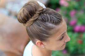 Lace Hair Style how to create a lace fishtail bun cute girls hairstyles 5378 by wearticles.com