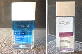 an honest review of l oreal micellar water eye and lip makeup remover