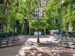 courtyard gathering