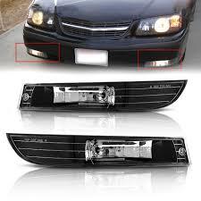 2005 Chevy Impala Fog Lights Front Bumper Fog Lights For 2000 2005 Chevy Impala