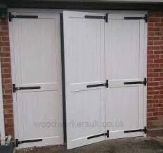 bi fold garage doorsCustomise your wooden garage doors  Gate Expectations