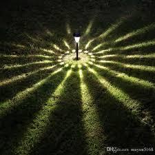 Solar Light Garden Light LED Lighting Solar Tower Lamp Plastic Garden Lights Led Solar